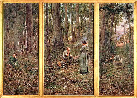 Mccubbin Frederick 1855 1917 1904 The Pioneer Nation