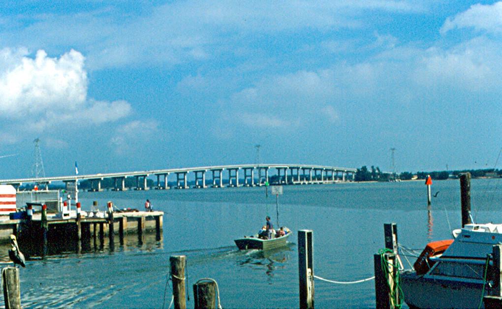 Apalachicola River Barrier Island
