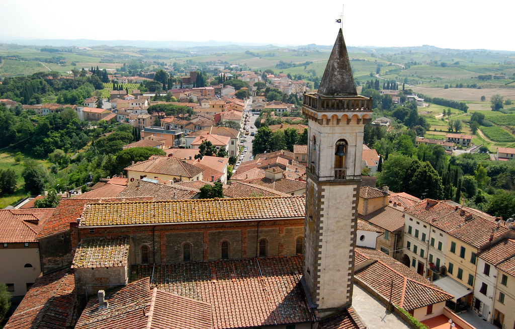 Town of Vinci, Italy |...