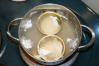 Making poached eggs with tins 4 | by Guttorm Flatabø