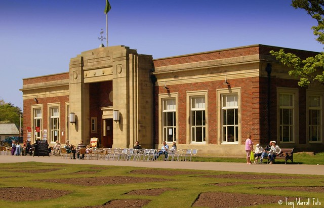The Art Deco Cafe In Stanley Park Blackpool Flickr