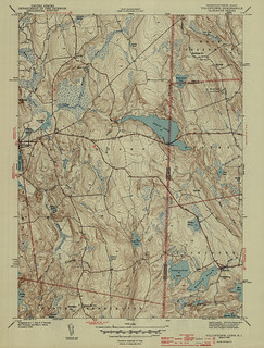 Voluntown Quadrangle 1943 - USGS Topographic Map 1:31,680 | by uconnlibrariesmagic