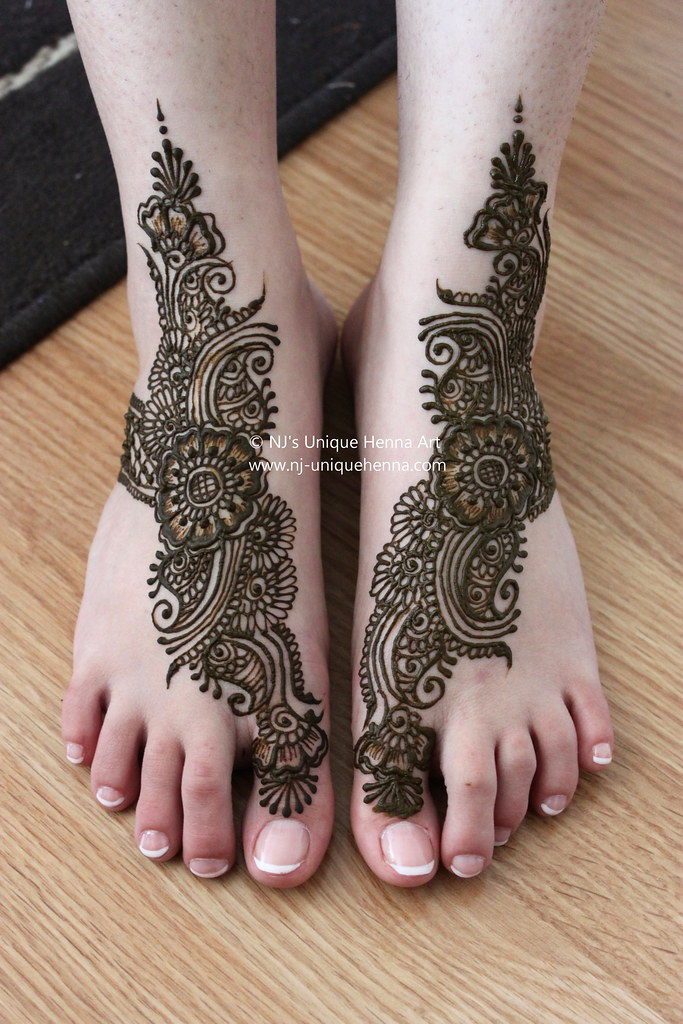 Bridal Mehndi Rates Nj : Naziefeh s bridal henna feet nj unique art