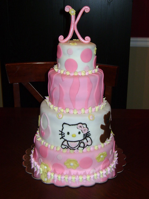 hello kitty baby shower cake 4 tier baby shower cake cover
