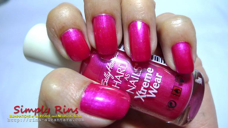 Nail Art Hot Magenta 01 | Rina Alcantara | Flickr