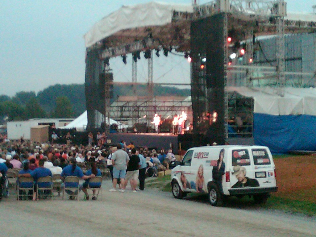 Beach Boys At The Clearfield County Fair Sent From My