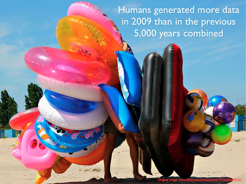 humans generated more data in 2009 than in previous 5000 years | by lynetter