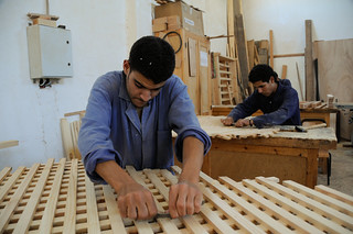 Young men at a vocational education and training center | by World Bank Photo Collection