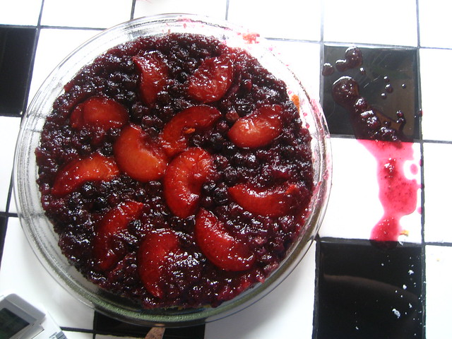 Plum Blueberry Upside Down Cake | Flickr - Photo Sharing!