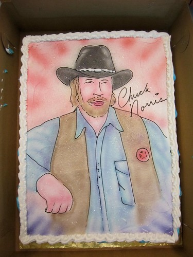 Chuck Norris cake | by Zach  Bass