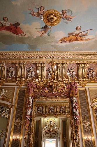 Long Foyer Jobs : Harlaxton manor long hall photo of elaborate guilding