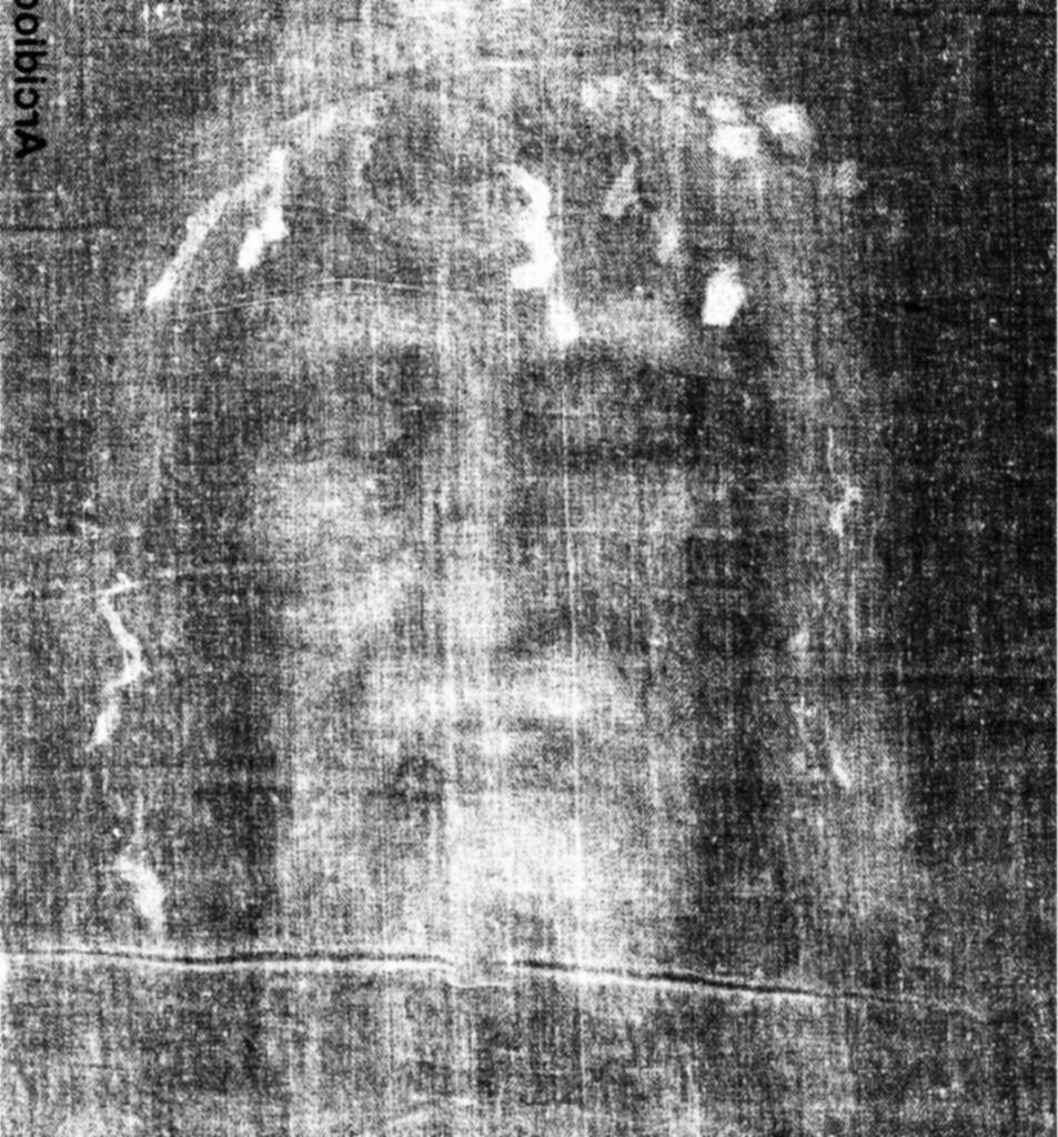The Sacred Face of Jesus Christ in the Holy Shroud of Turi… | Flickr
