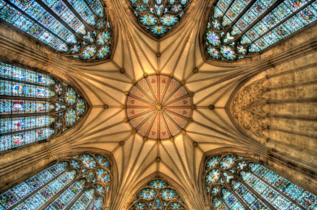 Chapter House Dsc1278 York Cathedral England Ceiling Of