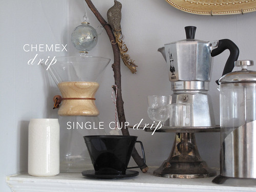 Non K Cup Coffee Maker : Non-electric coffee makers. Chemex Drip, Single Cup Drip Flickr