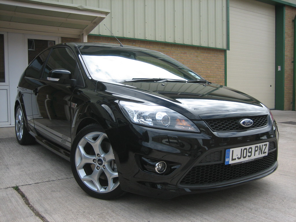 2009 Ford Focus St 3 Panther Black Supplied By Steve