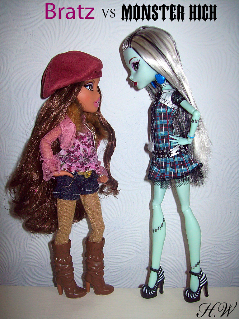 Bratz Vs Monster High Forget The Bratz Feud With Barbie Flickr