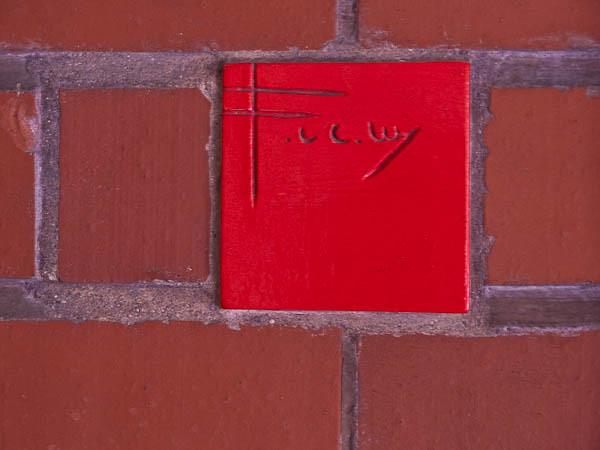 Red Tile Frank Lloyd Wright S Signature Johnson Wax