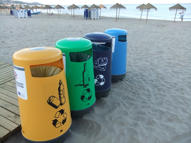 Beach Recycling Bins   Explore julie gibbons' photos on