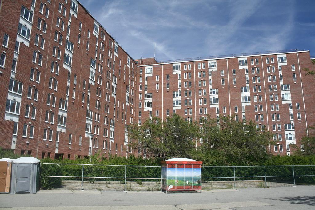 Abandoned U S Coast Guard Housing On Governors Island
