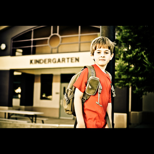 First Day of Kindergarten | by Eric M Martin