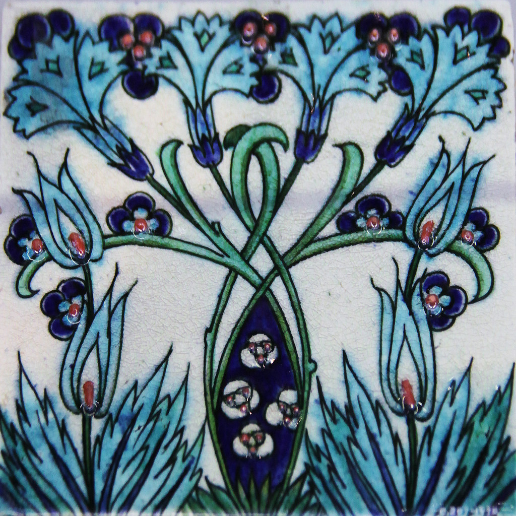 Tile William De Morgan V Amp A Kotomi Flickr