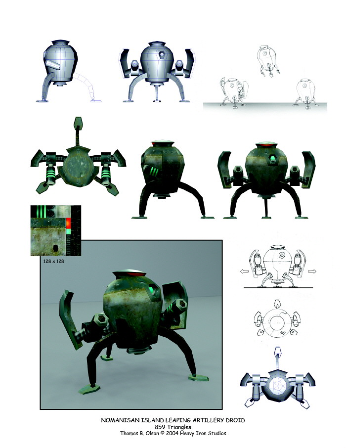 The Incredibles: Leaping Lobber Bot   One of my favorites ... - photo#22