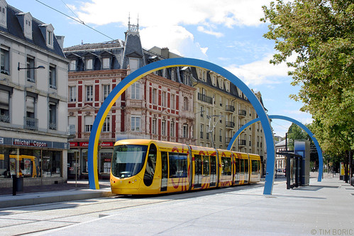 mulhouse tram stop tram stop in mulhouse designed like m flickr. Black Bedroom Furniture Sets. Home Design Ideas