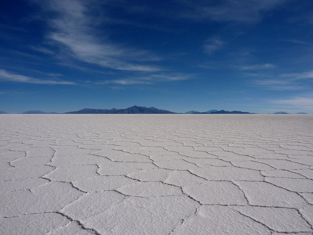 World's Largest Salt Flat in Bolivia