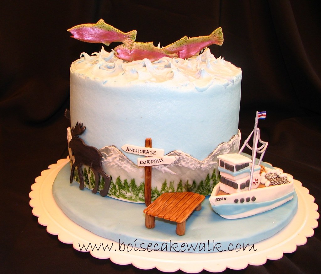 Alaska This Is One Of My All Time Favorite Cakes It Was F Flickr