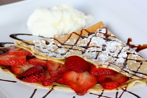 strawberry chocolate crepes | by cantik1980