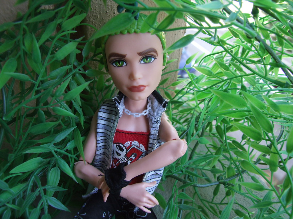 Monster high deuce gorgon the son of medusa monster high flickr - Monster high deuce ...