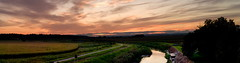 Sió sunset panorama by lumpy79