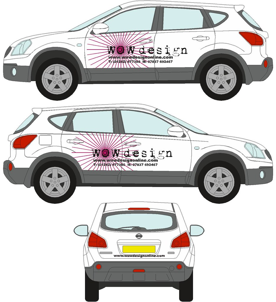 Car sticker designs images -  Wow Design Car Stickers By Wow Design Burnley