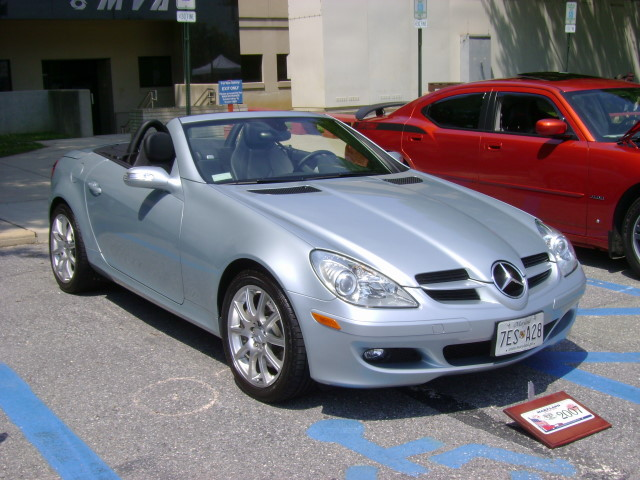 2007 Mercedes Benz Slk 350 Maryland Motor Vehicle