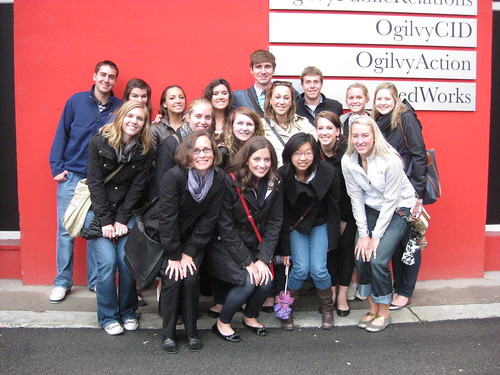 Students at Ogilvy Prague | by Marquette Global Brand Tracking 2010