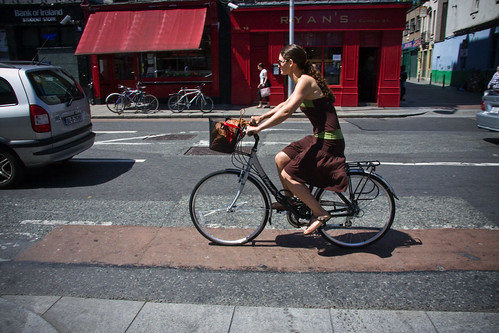 Dublin Cycle Chic - Skirting | by Mikael Colville-Andersen