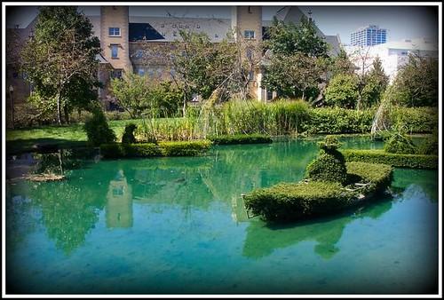 Columbus Oh Topiary Garden Old Deaf School Park Geo