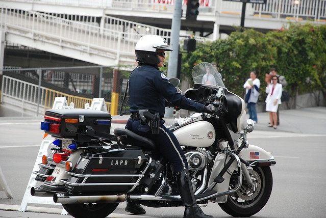 Los Angeles Police Department Lapd Female Motor Officer