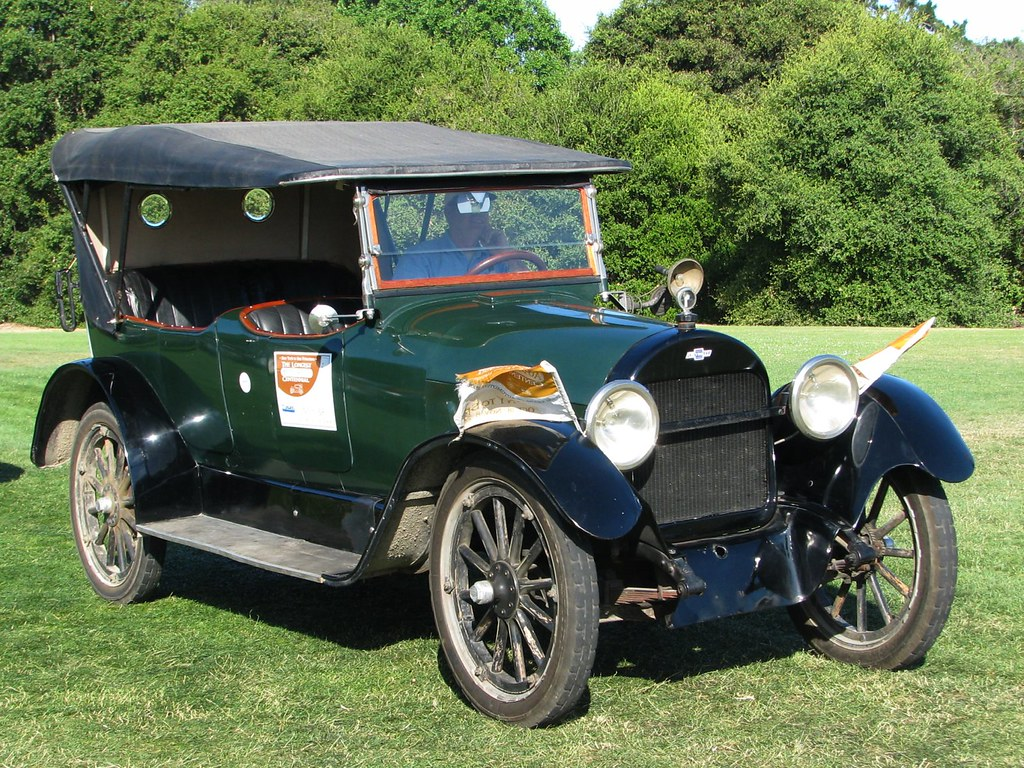1918 Chevrolet D-5 V8 Touring '7194' 1 | The first year of ...