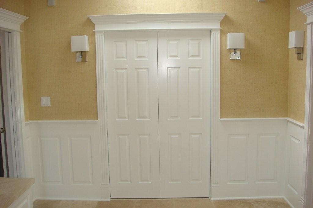 Bathroom wainscoting panels