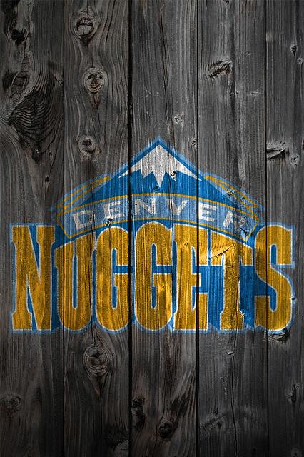 Denver Nuggets iPhone Wallpaper