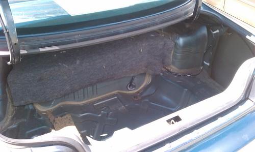 S14 Trunk Carpet Floor Matttroy