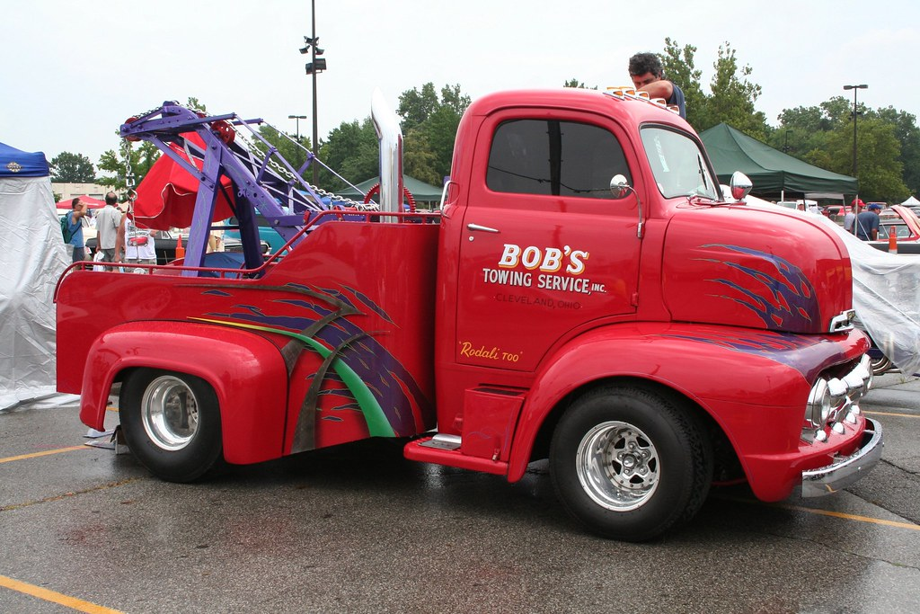 1951 ford coe tow - photo #1