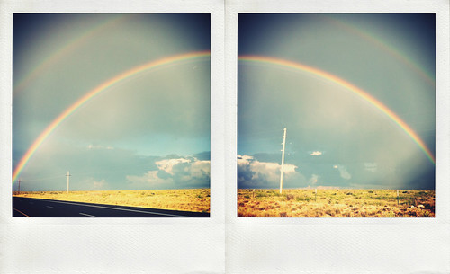 iPhoneography: 'Double Rainbow' (diptych) | by Dirk Dallas