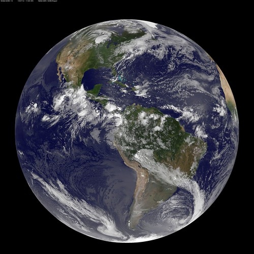 NASA GOES-13 Full Disk view of Earth July 14, 2010 | by NASA Goddard Photo and Video