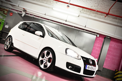 golf MkV GTI white | by why77
