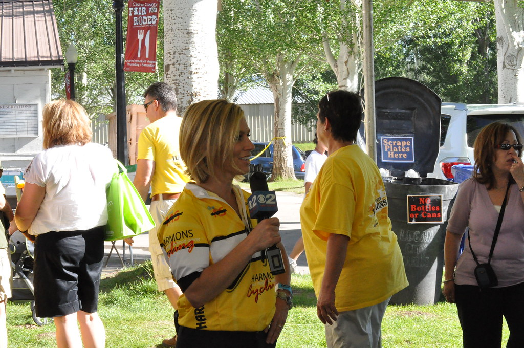Debbie Worthen Tells Viewers About The Harmons Ms Bike Rid