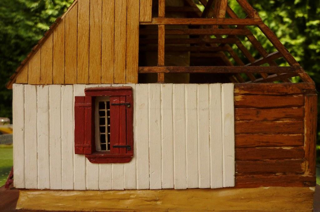 maison du xviii si cle pi ce sur pi ce charpenterie. Black Bedroom Furniture Sets. Home Design Ideas