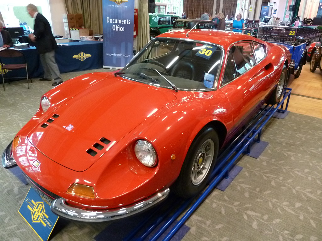 KBB 69L - 1972 Ferrari Dino 256 GT | The Dino brand was born… | Flickr