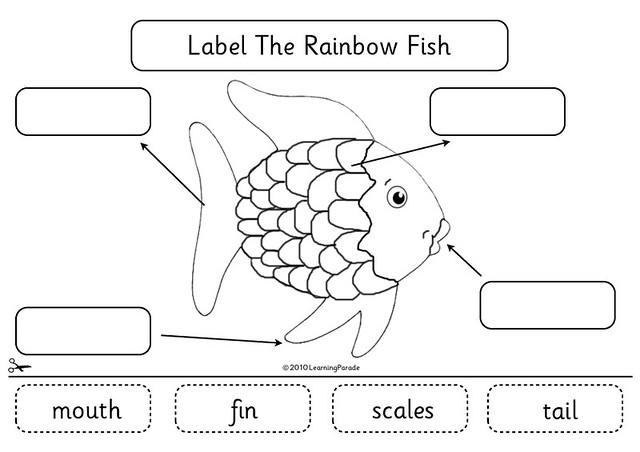 Rainbow Fish Activities Rainbow Fish Diagram Flickr
